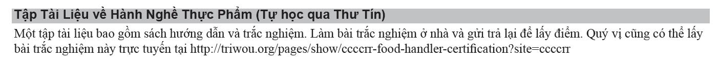 Vietnamese Registration